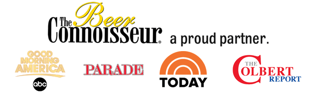 As recommended byThe Beer Connoisseur, Good Morning America, Parade, Today and The Colbert Report