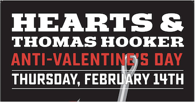 Thomas Hooker Brewery anti-valentine's day