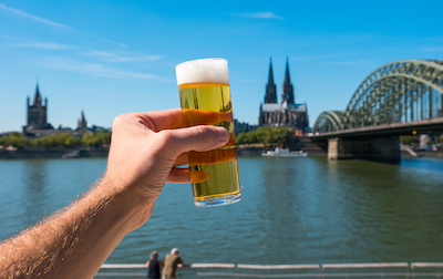 A beer toast to Cologne Germany