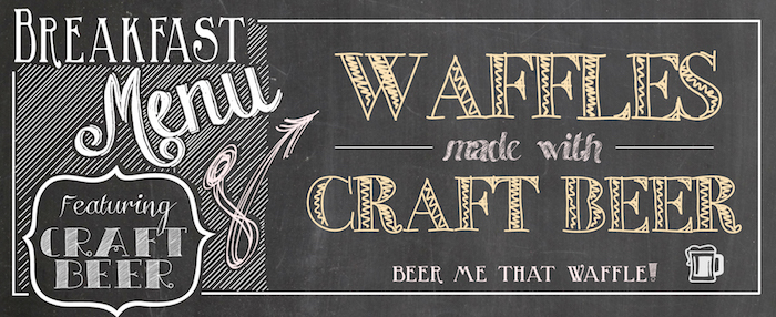 Banner image for Make The Best Waffles You've Ever Had With Beer