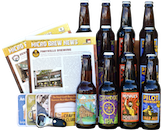 Craft Beder Club shipment with beer, newsletters and free gifts