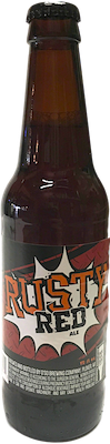 Bottle of O'so Brewing  Red Ale Rusty Red