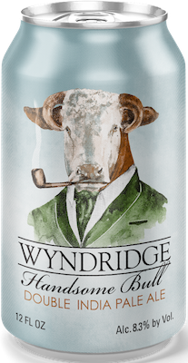 Bottle of Wyndridge  American Double / Imperial IPA Handsome Bull
