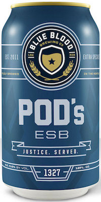 Bottle of Blue Blood  Extra Special / Strong Bitter (ESB) Pod's ESB