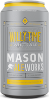 Bottle of Mason Ale  Belgian Witbier Willy Time
