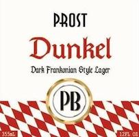 Bottle of Prost  Munich Dunkel Lager Dark Frankonian