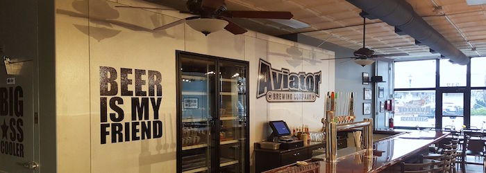 Aviator Brewing Company banner