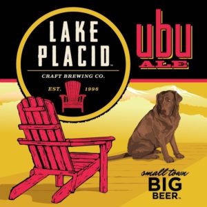 Bottle of Lake Placid  English Strong Ale Ubu Ale