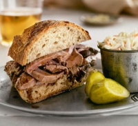 Spiced Beef Sandwich