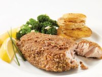 Southern Pecan Tuna Steak