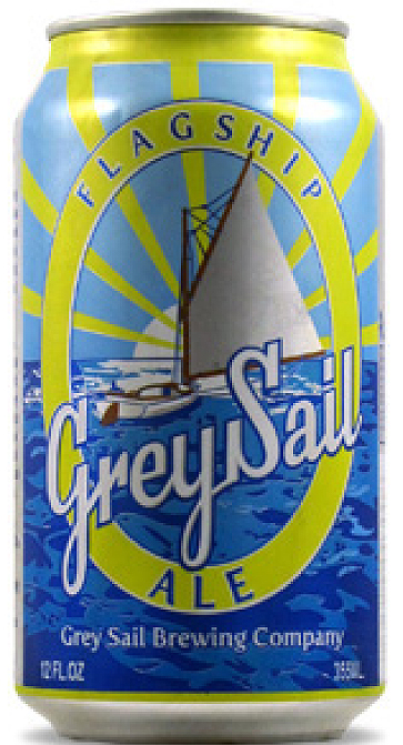 Bottle of Grey Sail Flagship  Cream Ale Cream Ale