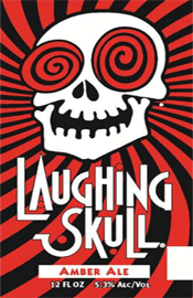 Bottle of Red Brick   Amber Ale Laughing Skull Amber Ale
