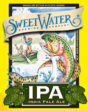 Bottle of SweetWater   India Pale Ale (IPA) IPA