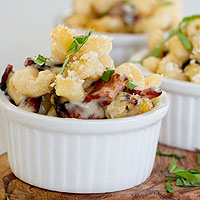 Loaded Baked Potato Mac & Cheese