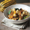 Spicy Rigatoni and Roasted Delicata Squash