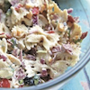 Chilled Bacon Ranch Pasta Salad