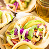Mahi Fish Tacos with Avocado Lime Sauce