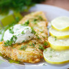 Tilapia with a Lemon Herb Butter Pan Sauce