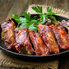 Oven Baked Barbecue Pork Ribs