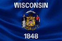 Wisonsin State Flag